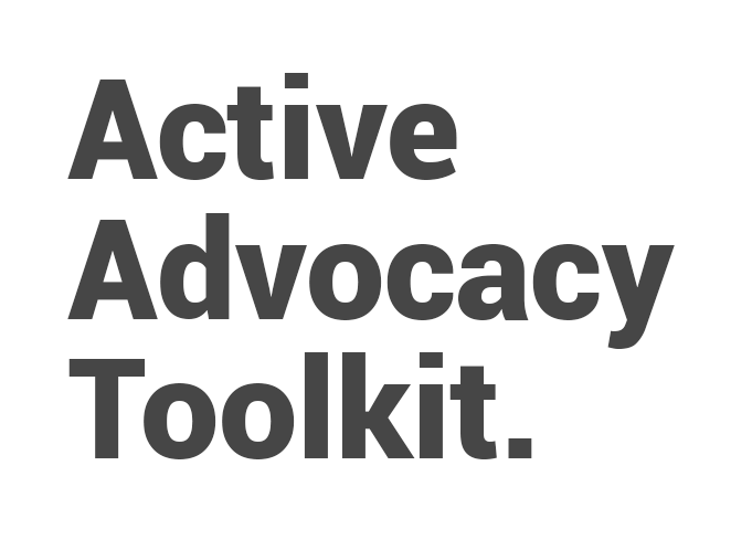 Active Advocacy Toolkit
